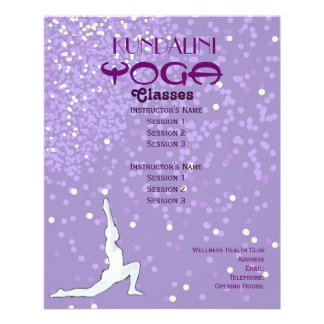 Yoga A5 flyer
