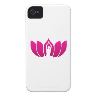Yoga and meditation graphic iPhone 4 cases
