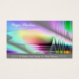 Yoga Arts Spiritual Massage Reiki Business Cards