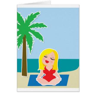 Yoga Background Cards
