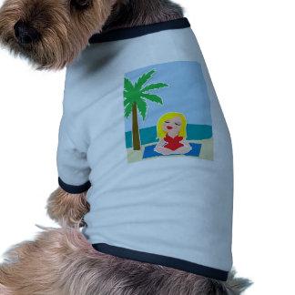 Yoga Background Pet Tshirt