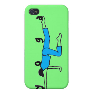 Yoga Balance - iPhone 4 cases green