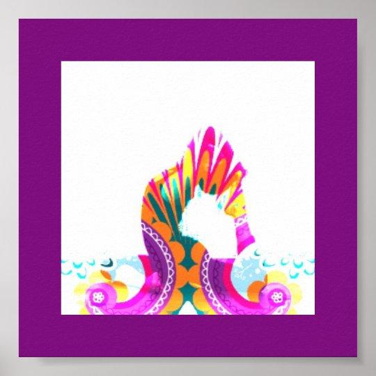 Yoga Boho Bend Poster