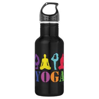 Yoga Bottle Black 532 Ml Water Bottle