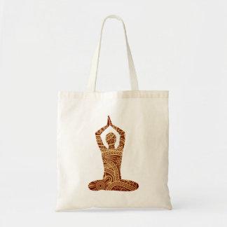 Yoga Budget Tote Bag