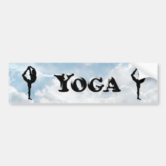 Yoga - Bumper Sticker