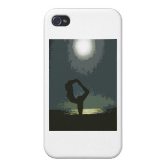 Yoga by Moonlight Cover For iPhone 4