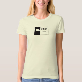 Yoga by the Barn Organic Tee