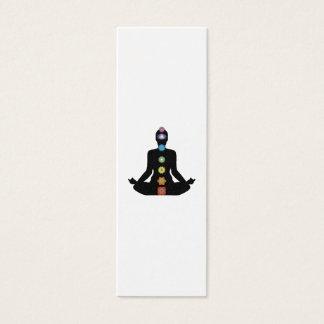 Yoga Chakras Fitness Exercise Mini Business Card