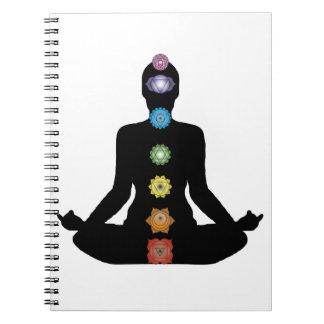 Yoga Chakras Fitness Exercise Notebooks