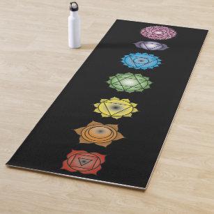 Chakra Yoga Mats Fitness Gear Zazzle Uk