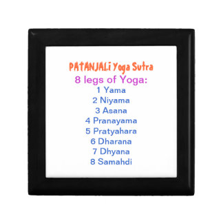 YOGA Checklist : 8 steps of PATANJALI SUTRA Gift Boxes