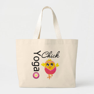 Yoga Chick Jumbo Tote Bag