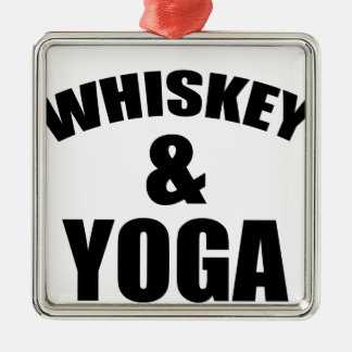 yoga christmas ornament