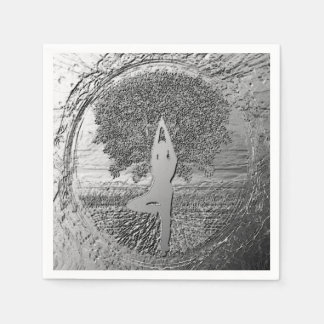 Yoga Chrome Tree of Life Disposable Napkins