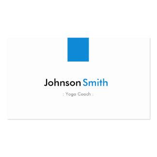 Yoga Coach - Simple Aqua Blue Pack Of Standard Business Cards