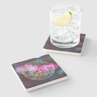 Yoga Coasters Stone Beverage Coaster