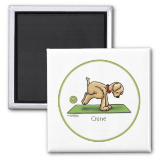 Yoga - Crane Magnet