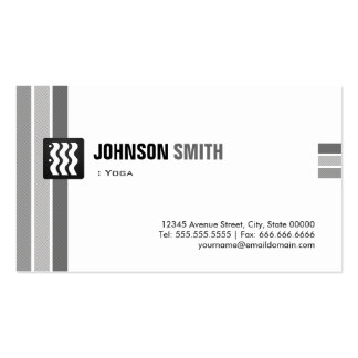 Yoga - Creative Black White Pack Of Standard Business Cards