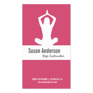 Yoga Custom Business Card