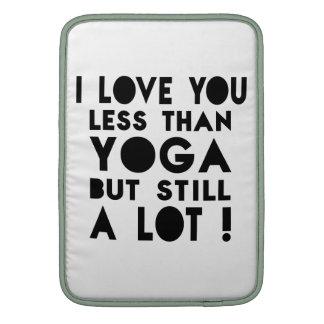 Yoga Designs MacBook Sleeves