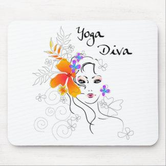 Yoga Diva Gift Mousepads