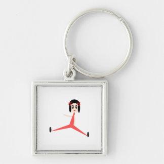 """""""Yoga Diva"""" Key Ring"""