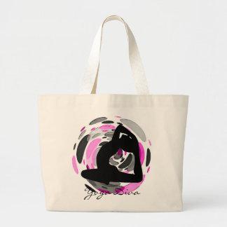 Yoga Diva Tote Bag