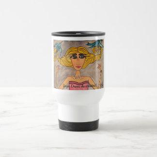 Yoga Divas do it better! Travel Mug