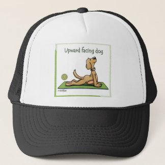 Yoga Dog - Upward Facing Dog Pose Trucker Hat
