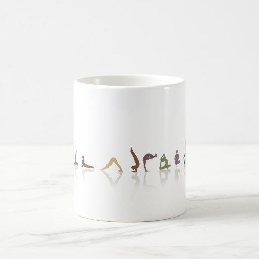 yoga_earth coffee mugs