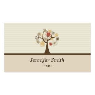 Yoga - Elegant Natural Theme Pack Of Standard Business Cards
