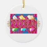 YOGA Enchanting Energy Print Christmas Tree Ornament