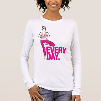 Yoga Everyday. Long Sleeve T-Shirt