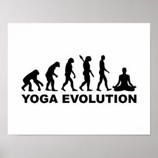 Yoga evolution posters