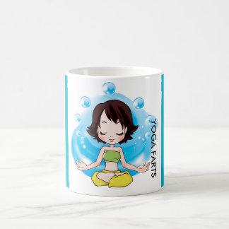 Yoga Farts Coffee Cup White 11 oz Classic Mug
