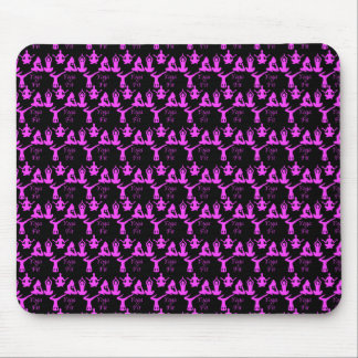 Yoga Fit Pattern Mouse Pad