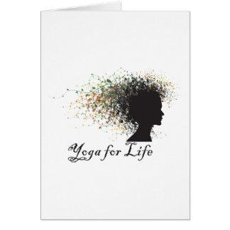 Yoga For Life Gift Greeting Card