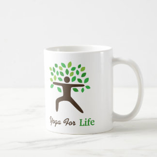 Yoga For Life Warrior Pose Tree Mugs