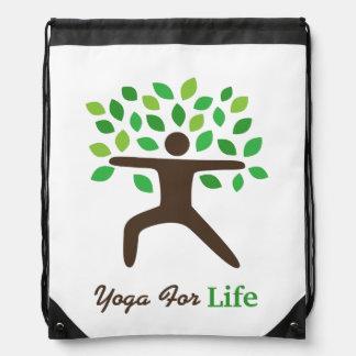Yoga For Life, Warrior Pose, Tree Rucksacks