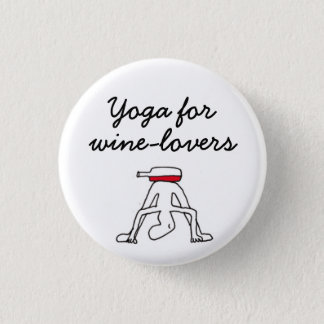 Yoga for Winelovers White Badge