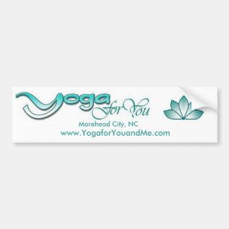 Yoga for You Bumper Sticker