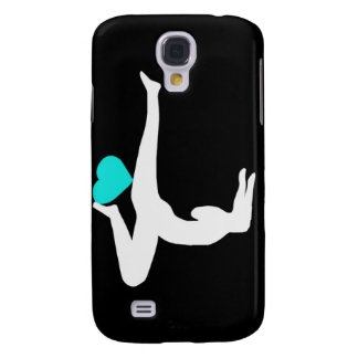 Yoga Forearm Stand - Black iPhone Case Galaxy S4 Case