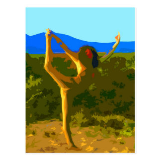Yoga Freedom Postcard