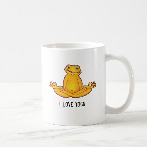 Yoga Frog - I Love Yoga,Moments of Zen Mug