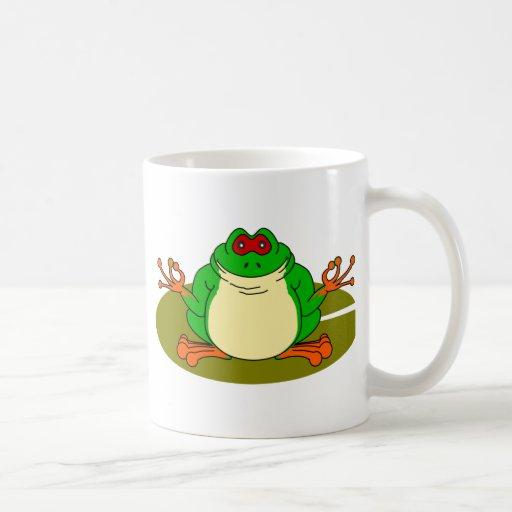 Yoga Frog Coffee Mug