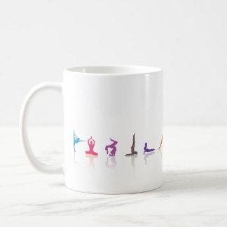 yoga fun coffee mug