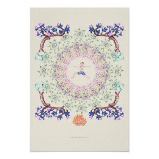 yoga Garden IV Posters