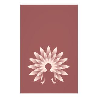 Yoga girl 14 cm x 21.5 cm flyer