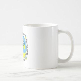 Yoga Girl Power Logo Basic White Mug